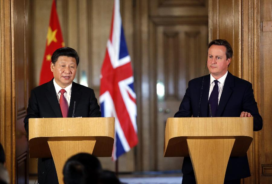 China And UK To Launch $1B Investment Fund Headed By David Cameron