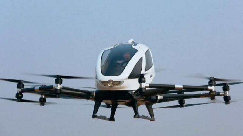 Chinese Drone Maker EHang Raises $46M In Nasdaq IPO